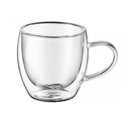 Termiczna szklanka do cappuccino z uchem 250ml