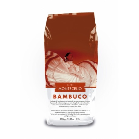 Montecelio Bambuco Kolumbia kawa ziarnista 1kg