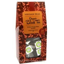Vintage Teas Organic Black Tea - 20 torebek