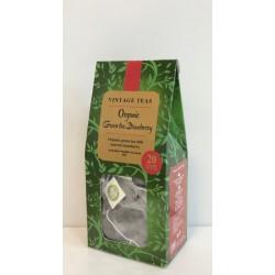 VINTAGE TEAS ORGANIC GREEN STRAWBERRY - 20 TOREBEK