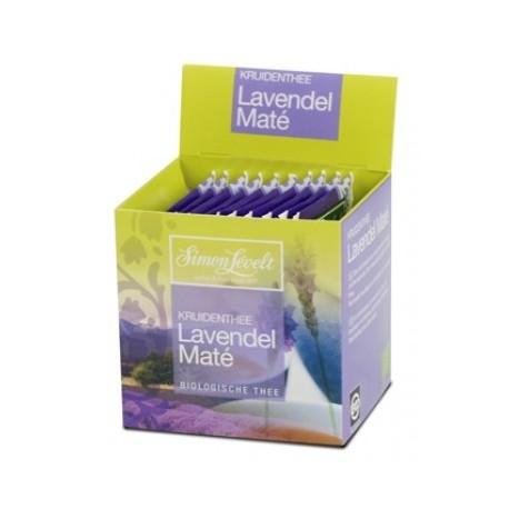 Herbata Simon Levelt Lavender Mate BIO 15 g