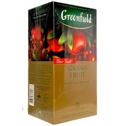 Herbata Greenfield Grand Fruit 25x1,5g - czarna z granatem i rozmarynem