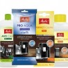 Zestaw Melitta -filtr, odkamieniacz, tabletki, oczyszczacz