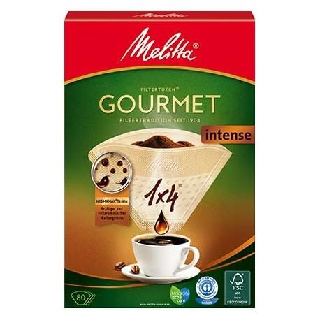 Filtry papierowe Melitta 1X4/80 GOURMET INTENSE