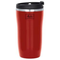 Kubek termiczny Melitta 250 ml - czerwony
